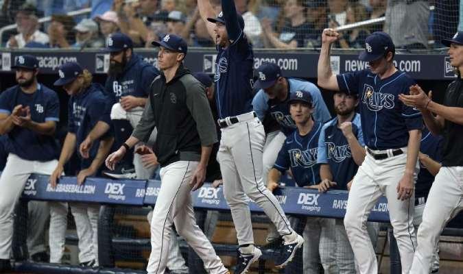 Los Rays han pasado 54 días consecutivos liderando el Este de la Liga Americana