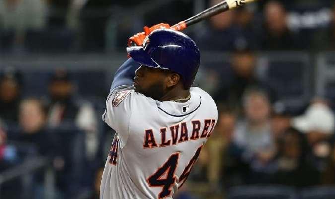 El toletero cubano es el decimoséptimo jugador de los Astros en llegar a 100 producidas