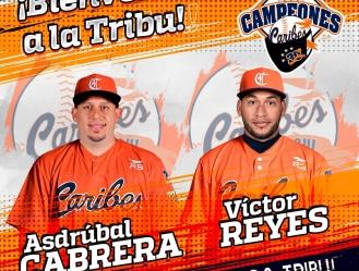 Leones reciben a Cesar Valera (UT), Leandro Cedeño (1B/OF), Erick Castillo (C) y Andrés Pérez (PD