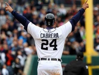 Cabrera tiene 2.979 hits de por vida