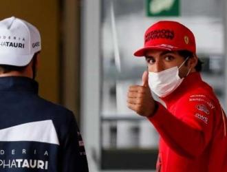 Sainz completó 46 giros entre las dos sesiones