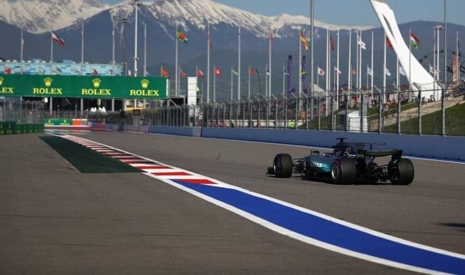 Mercedes, los dueños del GP de Rusia  AGENCIAS