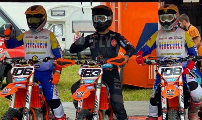 Tres pilotos venezolanos  participarán en el Mundial Motocross/Foto cortesía