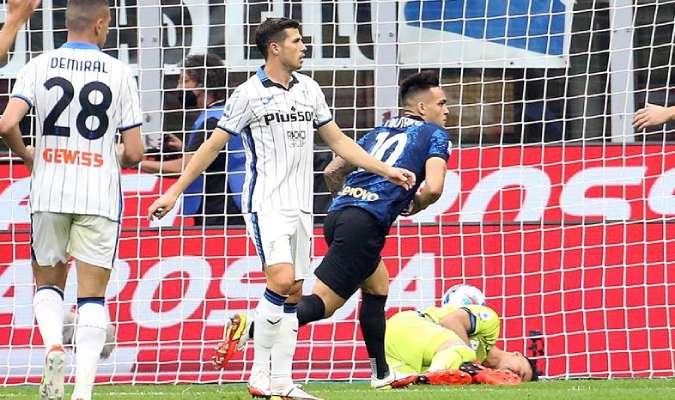 El Inter perdió la oportunidad de alcanzar al Milan al mando de la tabla