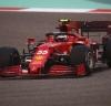 El Ferrari del madrileño, que partía segundo/Foto cortesía