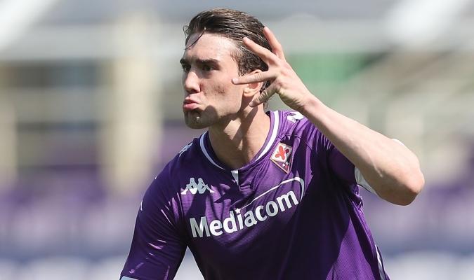 Dusan Vlahovic  marcó su primer gol en Italia/Foto cortesía