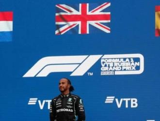 Relación de victorias (100) en Fórmula 1 del inglés Lewis Hamilton