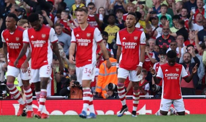 Arsenal había aniquilado el derbi londinense en 45 minutos/Foto cortesía