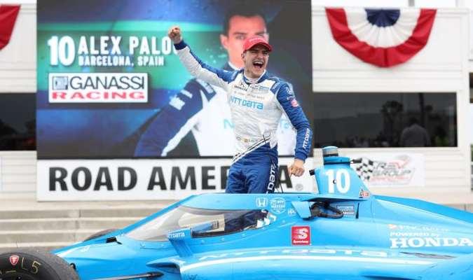 Palou se convirtió en uno de los pilotos más jóvenes de la historia en coronarse campeón de la I