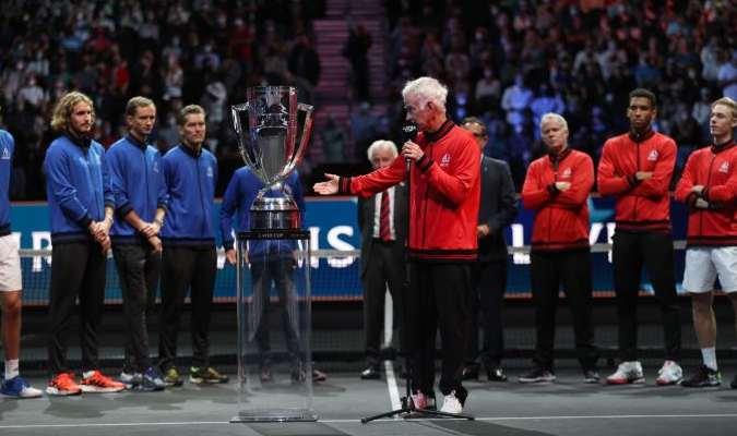 McEnroe no dudó en criticar a la ATP por no darle a la Laver Cup más importancia en el calendario