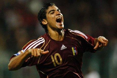 Ronald Vargas marcó goles con La Vinotinto || Foto: Cortesía