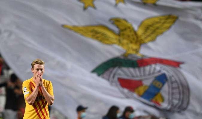 Barcelona fue abatido por el Benfica en Lisboa
