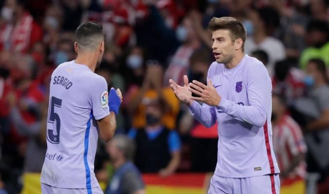 Barcelona no pudo como visitante ante un Atleti superior