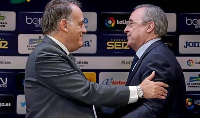 Tebas afirma que Messi si se podía firmar
