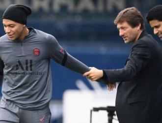 Florentino habló del posible fichaje de Mbappé en enero