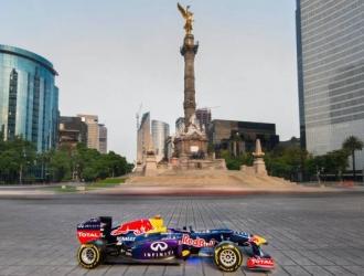 Checo' Pérez rodará en su monoplaza por las calles de la Ciudad de México el 3 de noviembre
