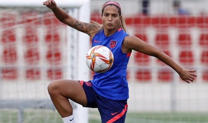 Castellanos, pieza vital para el conjunto colchonero. Prensa Atlético Madrid/Foto cortesía