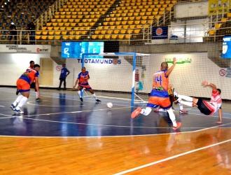 Jugaron en la sede habitual del torneo, el Forum| Prensa LFSala