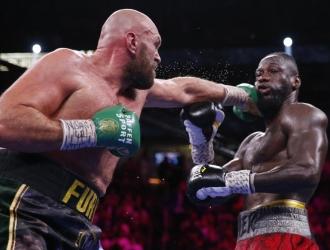 La pelea dejó imágenes emocionantes  AP
