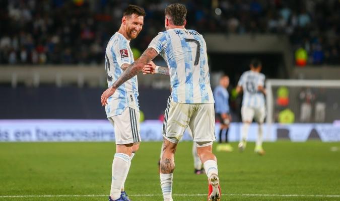 Lionel Messi fue el líder del triunfo de Argentina / cortesía @argentina