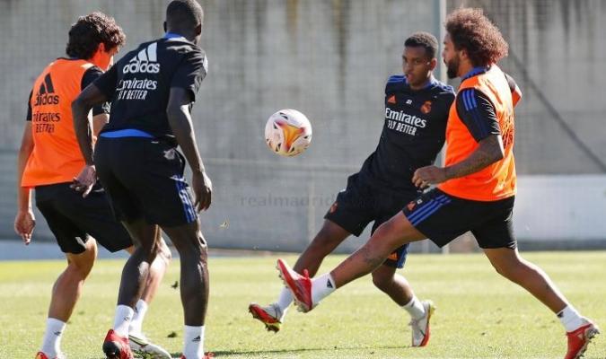 El Real Madrid volvió a los entrenamientos/Foto cortesía