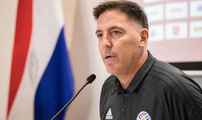 El seleccionador de Paraguay, Eduardo Berizzo/Foto cortesía
