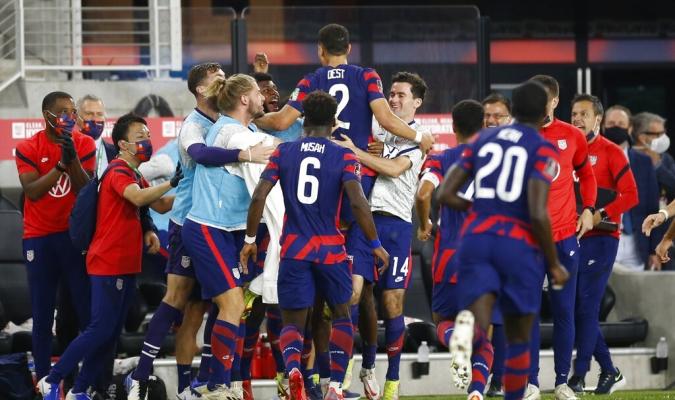 La victoria de Estados Unidos es la octava que consigue frente a Costa Rica en los 12 partidos / fot