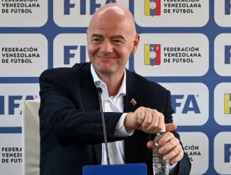 En su visita a Venezuela el presidente de la FIFA comentó en cómo la Vinotinto se beneficiaría  /