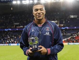 Mbappé fue elegido MVP del partido / Foto: PSG