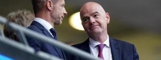 La UEFA y Ceferin están en contra del plan de la FIFA /EFE