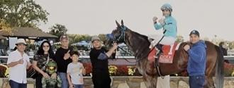 Queen Abarrio, último triunfo de Domínguez en la jornada de 20/10/2021/ @maritoven