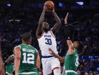 A los New York Knicks les tocó estrenar la vuelta a la normalidad del Madison Square Garden / foto