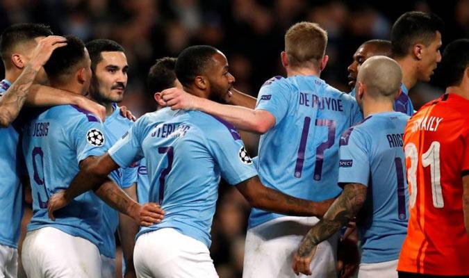 5. Manchester City (2.476 millones de euros aprox.)