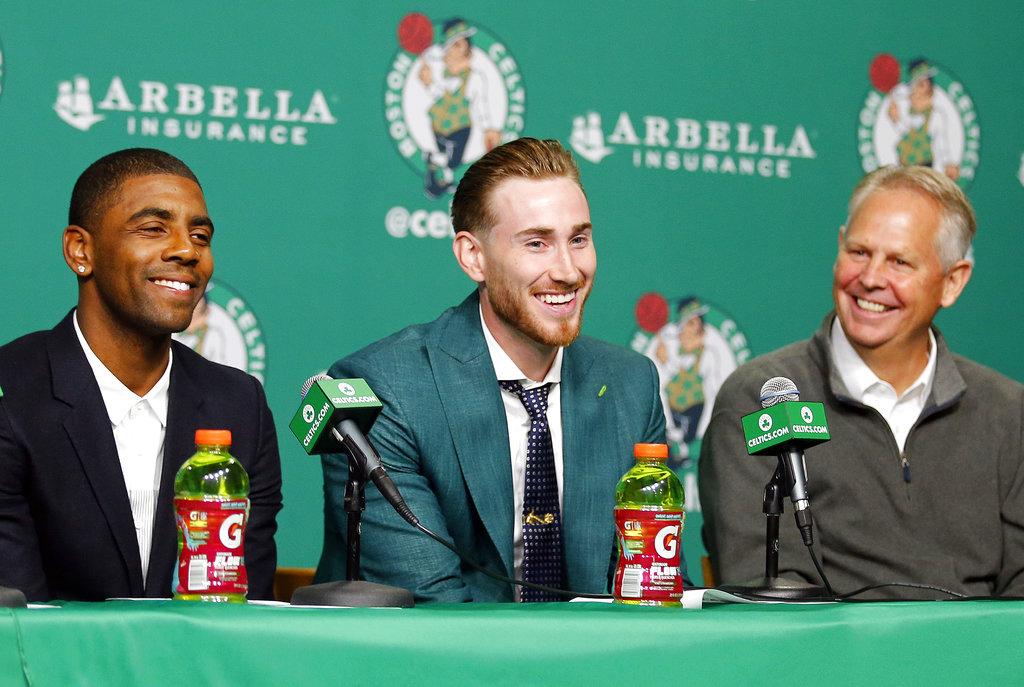 Irving y Hayward /Foto AP