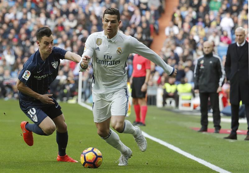 Añor en la marca de Cristiano Ronaldo /Foto EFE