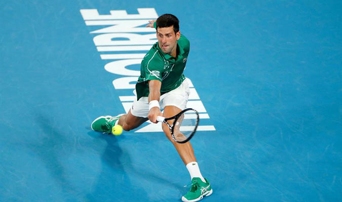 Djokovic luchó en semis contra Roger Federer/ Foto EFE