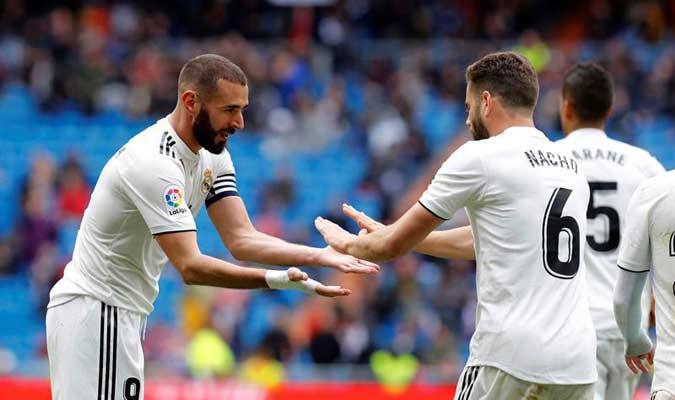 Benzema fue el capitán del Madrid || Foto: EFE