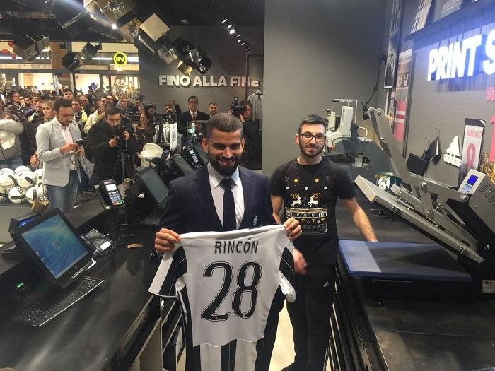 El tachirense lucirá el número 28 | Foto: Juventus