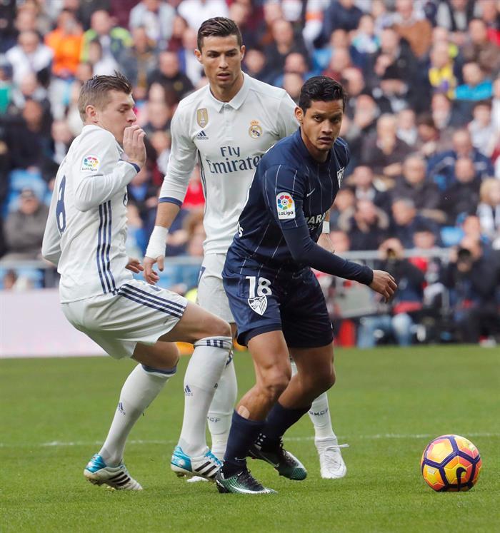 Rosales sale de la marca de Kroos y Ronaldo /Foto EFE