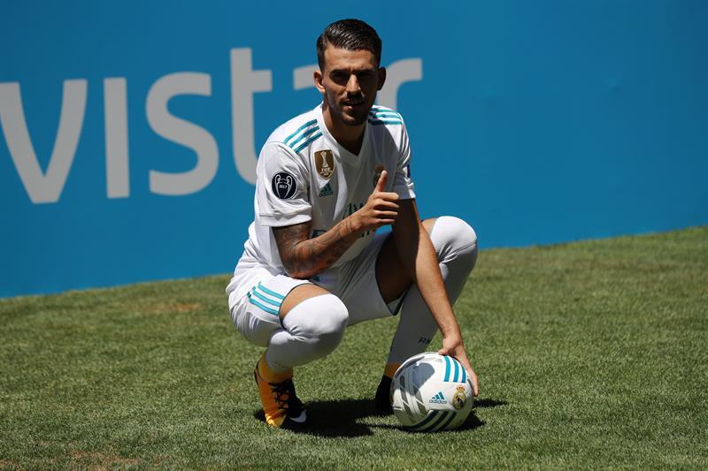 Primeras imágenes como jugador del Real Madrid /Foto EFE