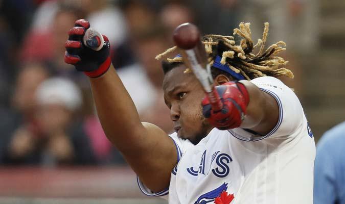 Guerrero Jr. exhibió su poder / Foto: AP