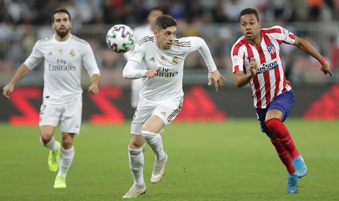 Valverde fue uno de los protagonistas del duelo/ Foto AP