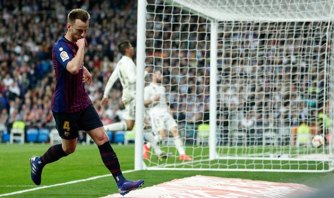 El croata celebrando su gol/ Foto AP