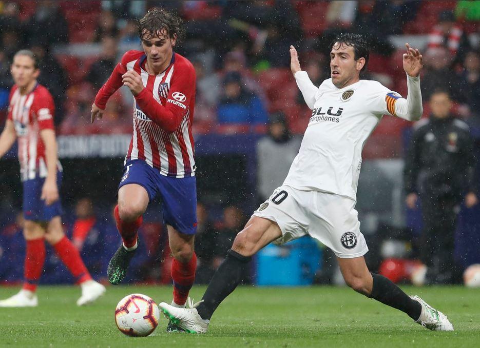 Griezmann dio la ventaja al Madrid en el minuto 49