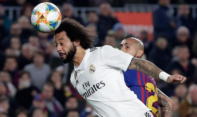 Marcelo no tuvo un buen partido/ Foto AP