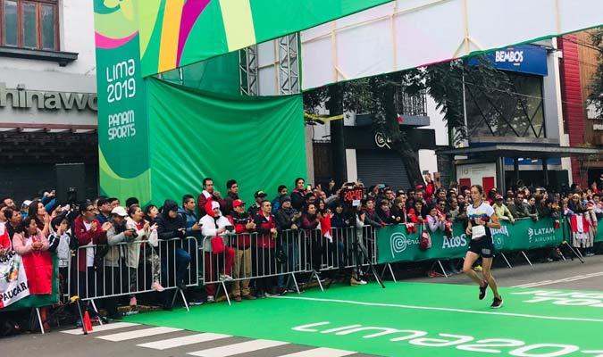 La venezolana recibió el apoyoFoto: Punto Olímpico