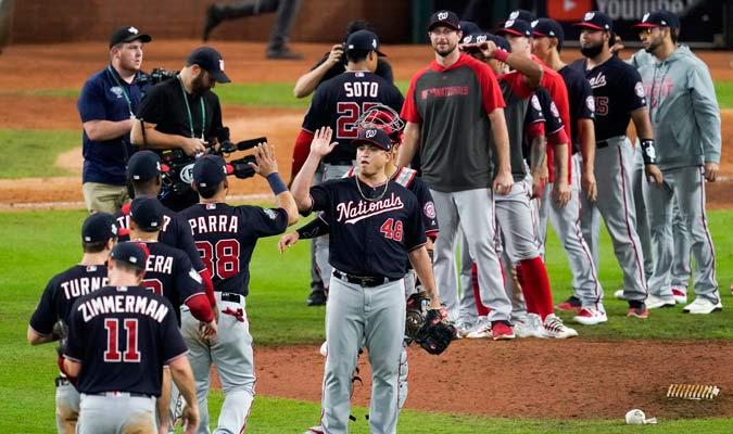 Los Nats se van a casa con dos triunfos en el bolsillo/ Foto AP