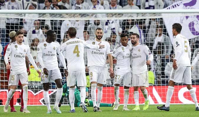 El equipo blanco dominó de principio a fin/ Foto EFE