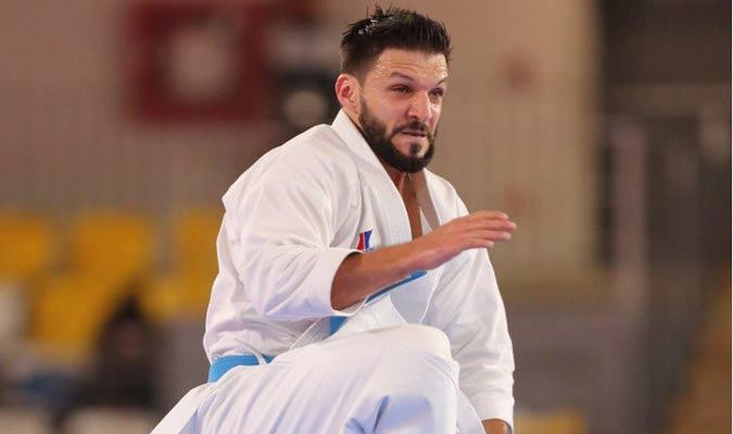Díaz no se achicó con la situación / Foto: Punto Olímpico