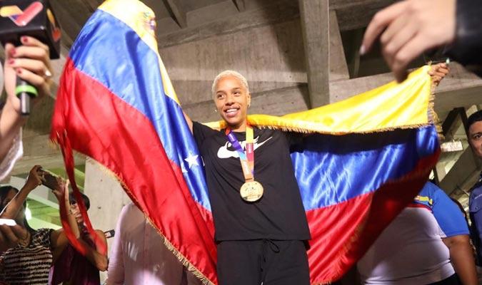 La venezolana disfruta de su llegada / Foto: COV